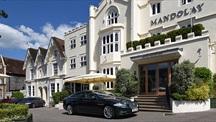 Mandolay Hotel exterior in daytime